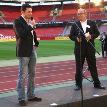 Dr. Rainer Müller-Hörner und Claus Fesel von DATEV