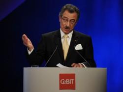 Prof. Dieter Kempf auf der CeBIT 2012 - Foto: Deutsche Messe