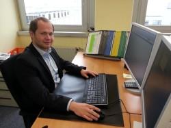 DATEV-Chat Mitarbeiter Sebastian Popp