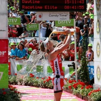 Die Top-Athleten erreichen das Ziel