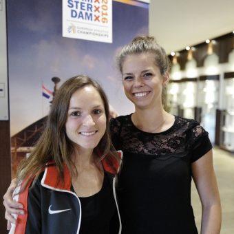 Anja Scherl und Kathrin Krause